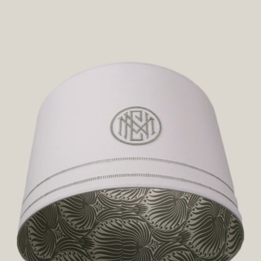 Monogram Linen, Wallpaper Interior